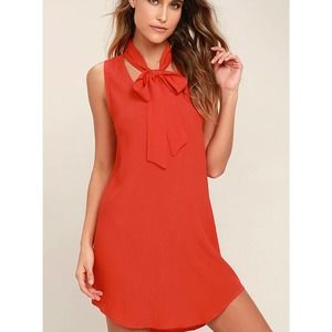 NWT Lucy Love Start Fresh Dress in Red